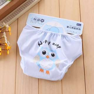 BABY OWL DIAPER COVER SIZE M