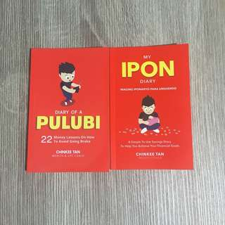 Diary of a Pulubi and My Ipon Diary Bundle by Chinkee Tan