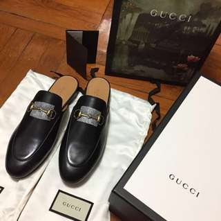 New Gucci Princetown Slides sz 38.5 $5900
