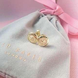 現貨🌸Ted Baker Button Earring 鈕扣耳環♥包順豐站