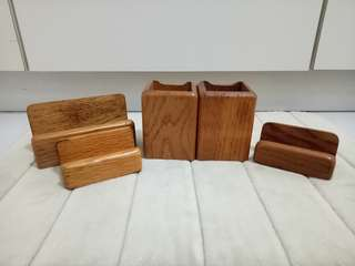 Paper and Pen Holder- Wooden