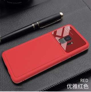 Samsung S9 case 手機殼 三星 紅色