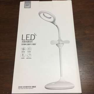 LED STOPLESS ELECTRIC FAN & TABLE LAMP