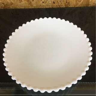 20cm 骨瓷碟