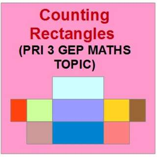 Pri 3 GEP Maths Topic: Counting Rectangles