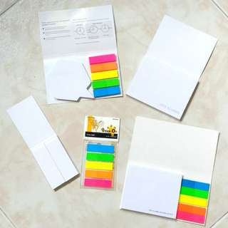 $0.50 ea NTU Sticky Post it Notes