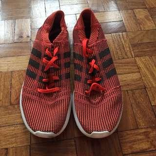 Authentic Adidas Running Shoes Orange (Size 9)