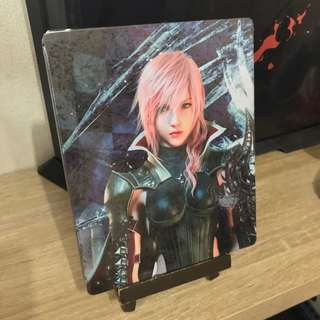 Final Fantasy 13 steelbook - PS3 with game