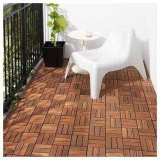 IKEA Wood Outdoor Flooring/Decking