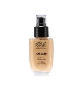 Make Up Forever Face and Body foundation