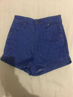 Wrangler Pin Up Shorts Size 8- perfect condition worn once