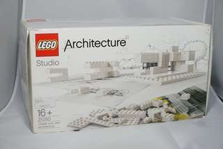 [SALE! LEGO 21050 Architecture Studio (Complete set with sealed packs)