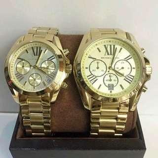 Michael kors Couple Watches