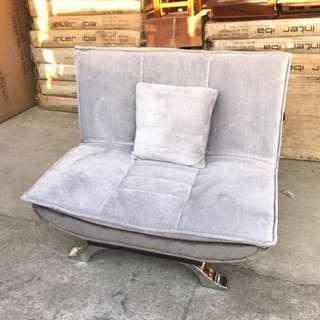 全新單人布沙發床/沙發椅凳/沙發矮凳/沙發椅/沙發躺椅