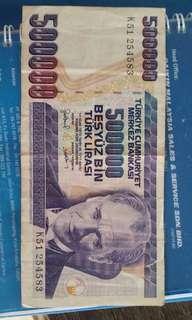 Turkey,Malaysia & US old money