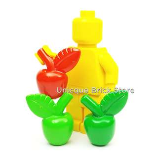 [Unicque] Lego Food & Drink - Apple (Various Colors)