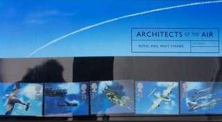 英國皇家郵政航空套摺 RM Air Presentation pack