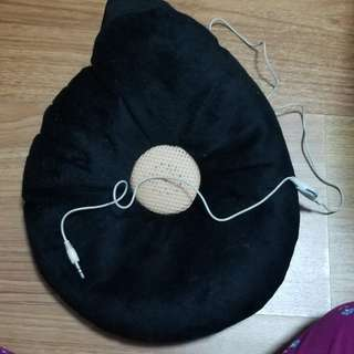 pillow speaker/earphone