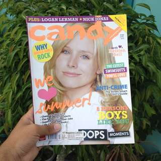 CANDY MAG APRIL 2010: KRISTEN BELL