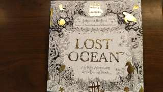 Johanna Basford Lost Ocean Colouring Book