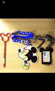 Tokyo Disney Sea Lanyards Mickey Mouse Collectibles