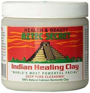 INDIAN AZTEC HEALING CLAY (101% ORIGINAL) onhand 1 tub