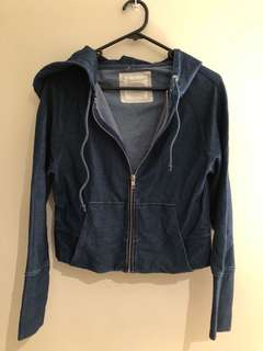 Cropped country road hoody
