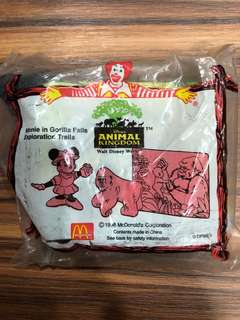 Minnie Animal kingdom McDonald's collectible (original packaging)