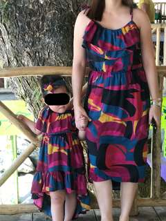 Mother and daugther summer outfit