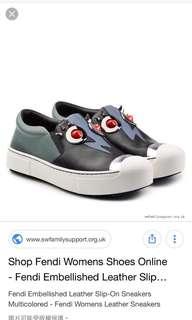 Fendi sneaker size 38