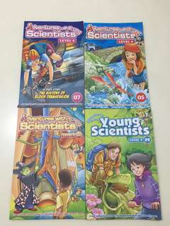 Adventures with Young Scientists Level 4