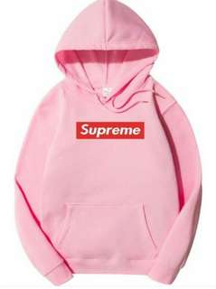 Supreme Hoodie Baby Pink
