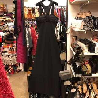 Giorgio Armani black vest dress size