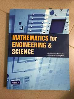 Mathematics for engineering and science