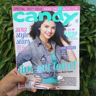CANDY MAG APRIL 2013: SELENA GOMEZ