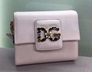 DG 白色水晶手袋(購自歐洲Outlet 有原裝塵袋) 可免費陪同到專門店驗貨