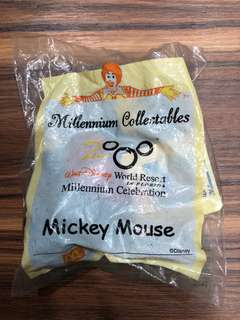 VERY RARE: Mickey Mouse McDonald's Walt Disney Resort Millennium celebration Collectibles