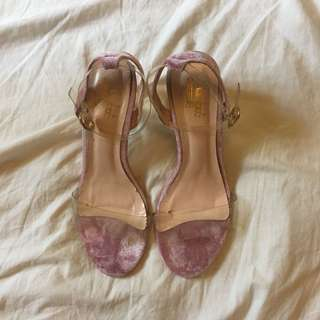 Clear Lucite Heels