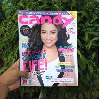 CANDY MAG MARCH 2012: SHAY MITCHELL