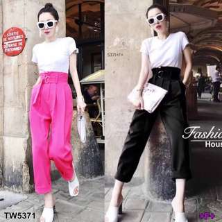 Top and pants ; shop to