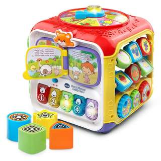 Free Delivery Brand New VTech Sort & Discover Activity Cube