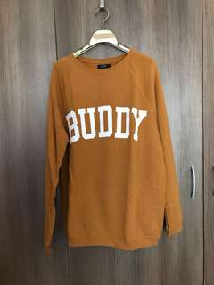 """BUDDY"" Pullover Sweater"