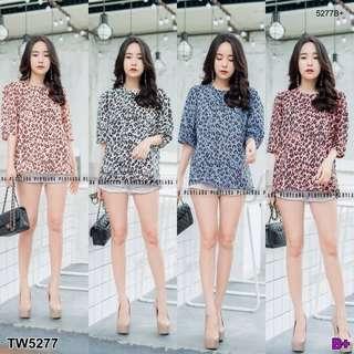 Leopard t-shirt   ; shop to