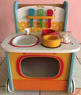 1755php (10% OFF+FREE DELIVERY!!!) ELC Wooden Activity Kitchen Walker