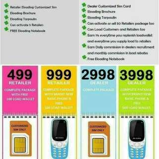 eLoading Business with free Cellphone