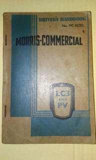 60s Morris- Commercial Driver's Handbook