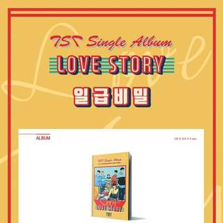 TOPSECRET(TST)-Love Story [Single Album]