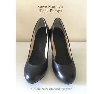 STEVE MADDEN Black Pumps