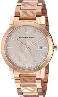 Burberry Women's Rose Gold Watch