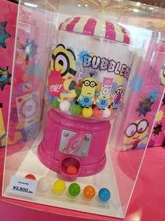 Minions 日本環球影城 糖果機 4月購入